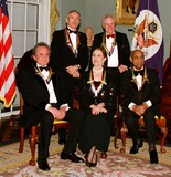 Maria Tallchief Photo - Washington DC - December 7 1996 - The 1996 Kennedy Center honorees pose for a photo at the State Department reception  Back row (L-R) Edward Albee Jack LemmonFront Row (L-R) Johnny Cash Maria Tallchief Benny CarterPHOTO BYPoolJIM KELLYGLOBE PHOTOS INC  1996BENNYCARTERRETRO