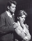 Troy Donahue Photo - Connie Stevens with Troy Donahue Susan Slade Supplied by Globe Photos Inc