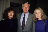 Alan Alda Photo - Anne Archer with Alan Alda and Gloria Steinem 1989 A4037 Photo by Adam Scull-Globe Photos Inc