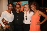 Chrystee Pharris Photo - Natasha Mccreas Evolution of a Love Addict Book Launch Cocktail Party Hosted by Chrystee Pharris Nicole Miller Store West Hollywood CA 10222014 Natasha Mccrea Ted Lange Christy Oldham and Chrystee Pharris Clinton H WallaceGlobe Photos Inc