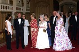Queen Beatrix Photo - ALPHA 048228 17062002(LEFT TO RIGHT) KING KARL GUSTAV SWEDEN QUEEN BEATRIX OF THE NETHERLANDS THE QUEEN QUEEN SONJA AND KING HARALD OF NORWAY QUEEN MARGRETHE OF DENMARK-GOLDEN JUBILEE DINNER PARTY FOR EUROPEAN ROYALSAT WINDSOR CASTLE IN WINDSOR BERKSHIRECREDIT ALPHAGLOBE PHOTOS INC