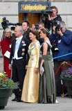 Princess Victoria of Sweden Photo - State Banquet-swedish State Visit-malmo Town Hall Copenhagen Denmark 05-11-2007 Photo by Ricardo Ramirez-richfoto-Globe Photos Inc King Carl Gustav Queen Silvia and Princess Victoria of Sweden