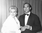 Eva Gabor Photo - Eva Gabor with Husband Richard Brown in 1963 Supplied by Globe Photos Inc
