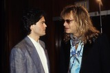 Donny Osmond Photo - David Lee Roth with Donny Osmond F2552 Supplied by Globe Photos Inc