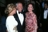 Johnny Carson Photo - Johnny Carson with Dinah Shore Joanna Carson 1984 Photo by Globe Photos