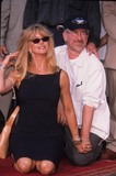 Goldie Photo - Steven Spielberg with Goldie Hawn at the Bob Daly and Terry Semel Footprints Ceremony Hollywood Ca 1999 K16713lr Photo by Lisa Rose-Globe Photos Inc