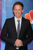 Seth Meyers Photo - Seth Meyers Saturday Night Live at NBC Upfront Red-carpet at Radio City Music Hall 5-13-2013 Photo by John BarrettGlobe Photos