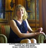Aurore Clement Photo - Aurore Clement ImapressGlobe Photos Inc-nice Matin 54 me Cannes Film Festival