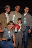 Adam Wylie Photo - Eric Wylie Eddie Crbrian Christian Oliver Deanna Wilshire Adam Wylie Celeb Bowl For Dallars 1995 K0351bn Photo by Bob V Noble-Globe Photos Inc