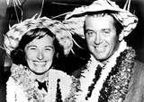 James Stewart Photo - James Stewart and Wife Gloria RangefindersGlobe Photos Inc