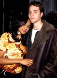 Jonathan Brandis Photo - Jonathan Brandis and Tatyana Ali Fresh Prince Wrap Party Photo Bylisa RoseGlobe Photos Inc 1996 Jonathanbrandisretro