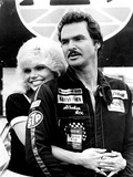 Burt Reynolds Photo - Loni Anderson and Burt Reynolds Stroker Ace Supplied by DmGlobe Photos Inc