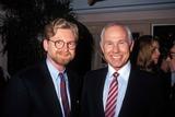 Johnny Carson Photo - 1991 Warren Littlefield and Johnny Carson Photo by Craig Skinner-Globe Photos