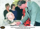 Prince Photo - 060499 the Prince of Wales Chats to Retired Farmer William Robertson 84 at Seaforth Housescotland AlphaGlobe Photos Inc