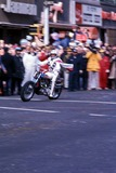 Evel Knievel Photo - 111976 Evel Knievel at the Macys Thanksgiving Day Parade Photo by Trina LiptonGlobe Photos