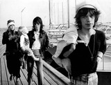 Anita Pallenberg Photo - Mick Jagger and Keith Richards of Rolling Stones with Keith S Girlfriend Anita Pallenberg and Their Child in Sweden 8-31-1970 7381 Photo by Jens Glargard-ipol-Globe Photos Inc