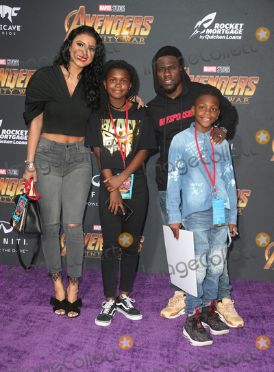 Photo - 23 April 2018 - Hollywood California - Kevin Hart Family Disney and Marvels Avengers Infinity War Los Angeles Premiere held at Dolby Theater Photo Credit F SadouAdMedia