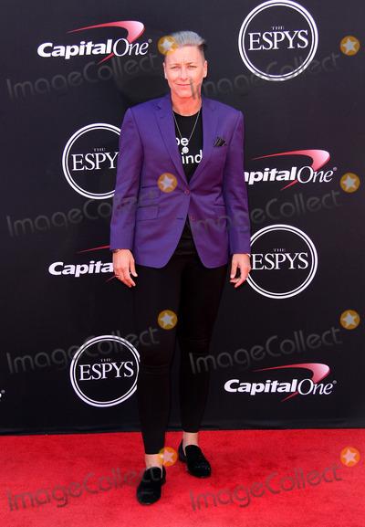 Abby Wambach Photo - 12 July 2017 - Los Angeles California - Abby Wambach 2017 ESPYS Awards Arrivals held at the Microsoft Theatre in Los Angeles Photo Credit AdMedia