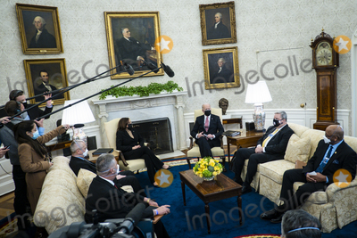 Photos From President Biden and Vice President Harris Meet with Labor Leaders