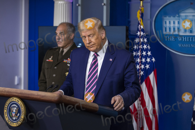 Photos From President Trump Press Conference