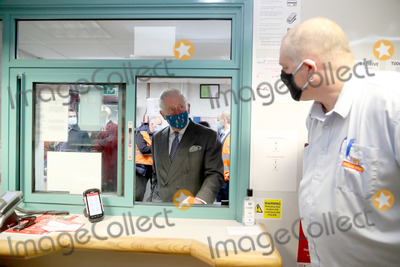 Wale Photo - 18th December 2020 - Prince Charles Prince of Wales wearing a mask because of the coronavirus pandemic arrives to visit Royal Mails Delivery Office in Cirencester Gloucestershire Prince Charles visited the Royal Mail in Cirencester to recognise the vital public services that the countrys postal workers provide especially during the coronavirus pandemic and in the run-up to Christmas Photo Credit ALPRAdMedia