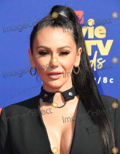 Photo - 15 June 2019 - Santa Monica California - Jenni JWow Farley 2019 MTV Movie and TV Awards held at Barker Hangar Photo Credit Birdie ThompsonAdMedia