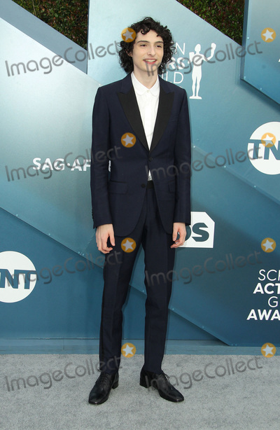 Photo - 19 January 2020 - Los Angeles California - Finn Wolfhard 26th Annual Screen Actors Guild Awards held at The Shrine Auditorium Photo Credit AdMedia