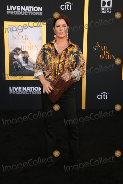 Photo - 24 September 2018-  Los Angeles California - Marcia Gay Harden the Los Angeles premiere of A Star Is Born held at The Shrine Auditorium Photo Credit Faye SadouAdMedia