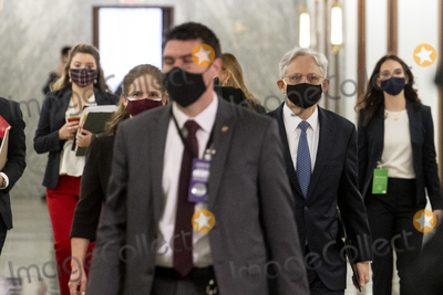 Photos From Merrick Garland arrives for a Senate Committee on the Judiciary hearing to examine his nomination to be Attorney General, Department of Justice.