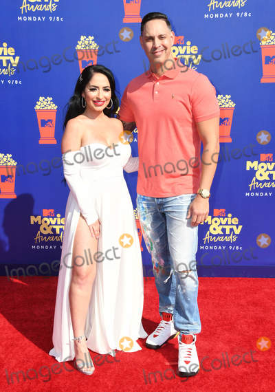 Angelina Pivarnick Photo - 15 June 2019 - Santa Monica California - Angelina Pivarnick 2019 MTV Movie and TV Awards held at Barker Hangar Photo Credit Birdie ThompsonAdMedia