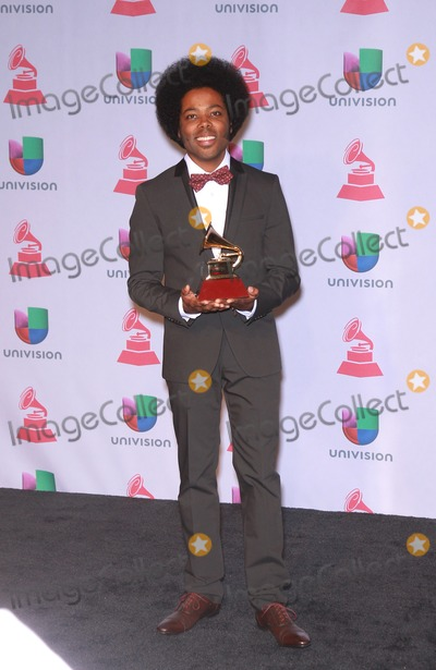 Alex Cuba Photo - 21 November 2013 - Las Vegas NV -  Alex Cuba The 2013 Latin Grammy Awards media room arrivals at Mandalay Bay Casino ResortPhoto Credit mjtAdMedia