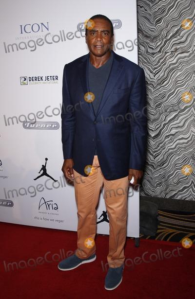 Ahmad Rashad Photo - 13 March 2015 - Las Vegas NV -  Ahmad Rashad The Derek Jeter Celebrity Invitational at ARIA Resort  CasinoPhoto Credit mjtAdMedia
