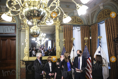 Photos From Vice President Harris Swears In Samantha Power As Administrator of the United States Agency for International Development (USAID)
