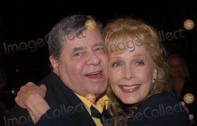 Photo - 20 August 2017 - Jerry Lewis the brash slapstick comic who became a pop culture sensation in his partnership with Dean Martin and then transformed himself into an auteur filmmaker of such comedic classics as The Nutty Professor and The Bellboy has died in Las Vegas at the age of 91 For most of his career Lewis was a complicated and sometimes polarizing figure An undeniable comedic genius he pursued a singular vision and commanded a rare amount of creative control over his work with Paramount Pictures and other studios He legacy also includes more than 25 billion raised for the Muscular Dystrophy Association through the annual Labor Day telethon that he made an end-of-summer ritual for decades until he was relieved of the hosting job in 2011 In addition to his most famous films Lewis also appeared in a number of notable works such as Martin Scorseses The King of Comedy but was largely offscreen from the late 60s on and was more active with his telethon and philanthropic efforts As late as 2016 Lewis continued to perform in Las Vegas where he first debuted his comedy routine back in 1949 File Photo 12 October 2004 - Hollywood California - Stella Stevens and Jerry Lewis The Nutty Professor Screening in celebration of the DVD Release of 10 of Jerry Lewis Classics held at Paramount Theatre Photo Credit Jacqui WongAdMedia