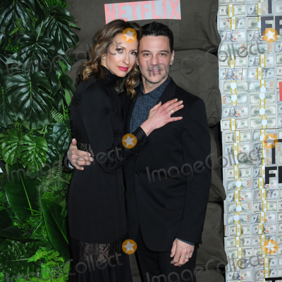 Alysia Reiner Photo - 03 March 2019 - New York New York - Alysia Reiner and David Alan Basche The World Premiere of Triple Frontier at Jazz at Lincoln Center Photo Credit LJ FotosAdMedia