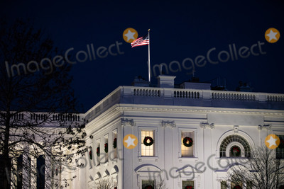 Photos From White House at Dusk