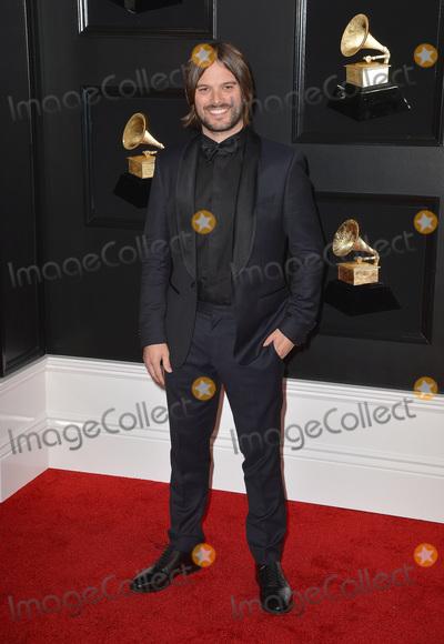 Alan Hicks Photo - 10 February 2019 - Los Angeles California - Alan Hicks 61st Annual GRAMMY Awards held at Staples Center Photo Credit AdMedia