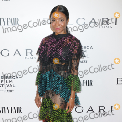 Photo - 23 April 2019 - New York New York - Genevieve Jones at BVLGARIs World Premiere of Celestial and The Fourth Wave with Vanity Fair for the 18th Annual Tribeca Film Festival at Spring Studios Photo Credit LJ FotosAdMedia