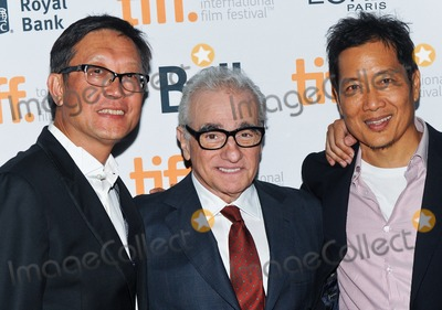 Andrew Lau Photo - 10 September 2014 - Toronto Canada - Andrew Lau Justin Chon Andrew Loo Revenge Of The Green Dragons Premiere during the 2014 Toronto International Film Festival held at the Ryerson Theatre Photo Credit Brent PerniacAdMedia