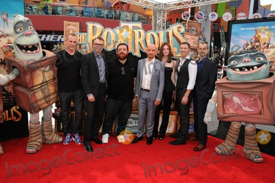 Anthony Stacchi Photo - 21 September 2014 - Universal City California - Graham Annable Nick Frost Ben Kingsley Elle Fanning Travis Knight Anthony Stacchi The Boxtrolls Los Angeles Premiere held at Universal CityWalk Photo Credit Byron PurvisAdMedia