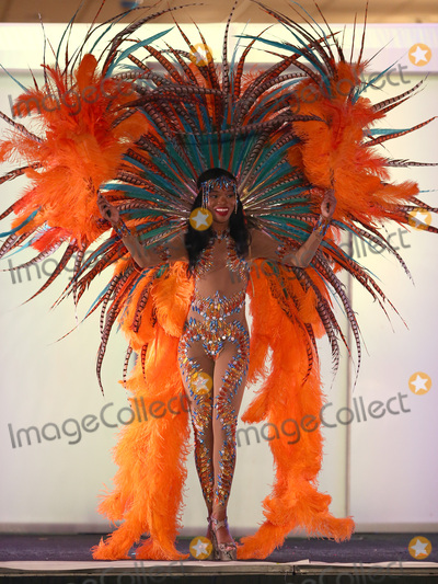 Photo - 18 November 2017 - Las Vegas NV -  Miss Trinidad and Tobago Yvonne Clarke  66th Miss Universe Pageant National Costume Show at Planet Hollywood resort Hotel and Casino Photo Credit MJTAdMedia