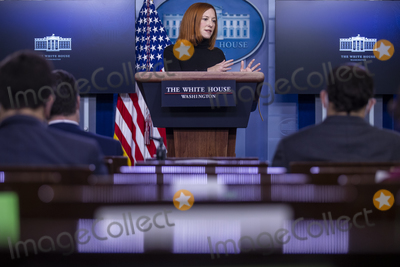 Photos From Daily press briefing by White House Press Secretery Jen Psaki