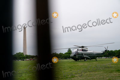 Jill Biden Photo - Marine One carrying US President Joe Biden and First Lady Jill Biden prepares to take off from the Ellipse of the White House in Washington DC US on Monday May 3 2021 Bidens 4 trillion vision of remaking the federal governments role in the US economy is now in the hands of Congress where both parties see a higher chance of at least some compromise than for the administrations pandemic-relief bill Credit Erin Scott  Pool via CNPAdMedia