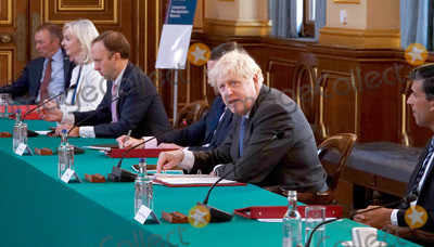 Photos From Boris Johnson Cabinet Meeting at Foreign Office