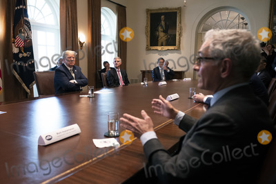 Photos From President Donald Trump meets with Travel Industry CEOs on Coronavirus at the White House
