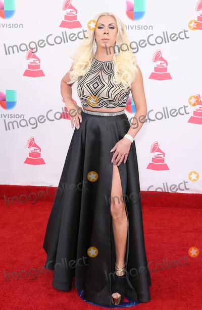 Abigail Pereira Photo - 17 November 2016 - Las Vegas NV - Abigail Pereira  2016 Latin Grammy arrivals at T-Mobile Arena  Photo Credit MJTAdMedia