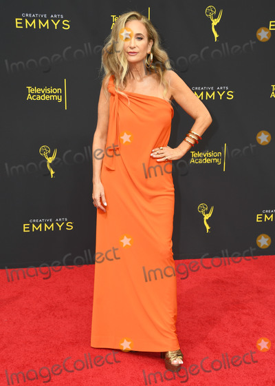 Allyson Fanger Photo - 15 September 2019 - Los Angeles California - Allyson Fanger 2019 Creative Arts Emmys Awards - Arrivals held at Microsoft Theater LA Live Photo Credit Birdie ThompsonAdMedia