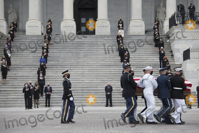 Photos From Supreme Court Justice Ruth Bader Ginsburg Departs from the US Capitol