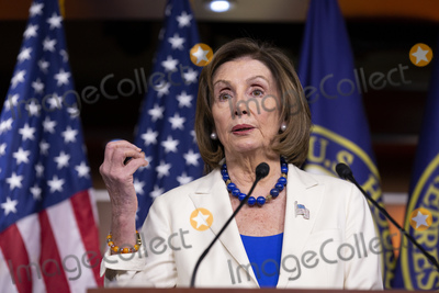 Photos From Speaker of the United States House of Representatives Nancy Pelosi (Democrat of California) Press Conference