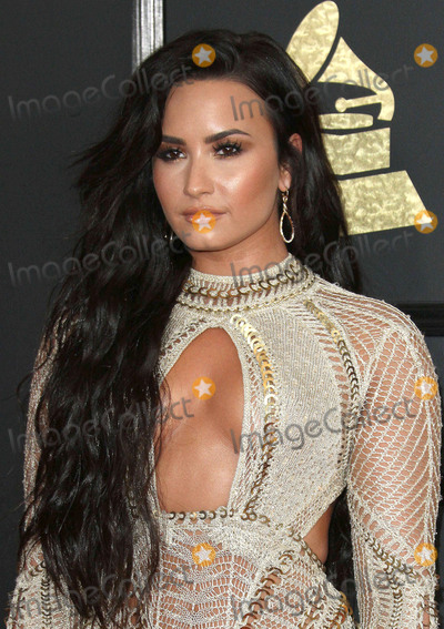 Photo - 12 February 2017 - Los Angeles California - Demi Lovato 59th Annual GRAMMY Awards held at the Staples Center Photo Credit AdMedia